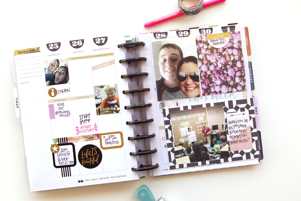 memory planning & discovering what works in your Happy Planner™ by mambi Design Team member Jennie McGarvey | me & my BIG ideas