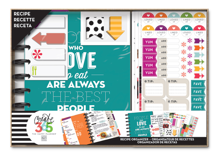 The Happy Planner™ Recipe Organizer BOX KIT | me & my BIG ideas.jpg
