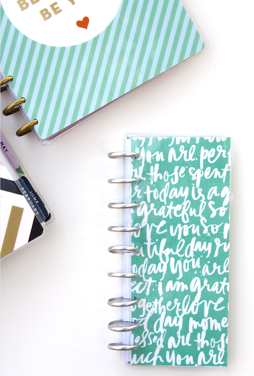 two idea for what to do with your extra Happy Planner™ pages by mambi Design Team member Jennie McGarvey | me & my BIG ideas