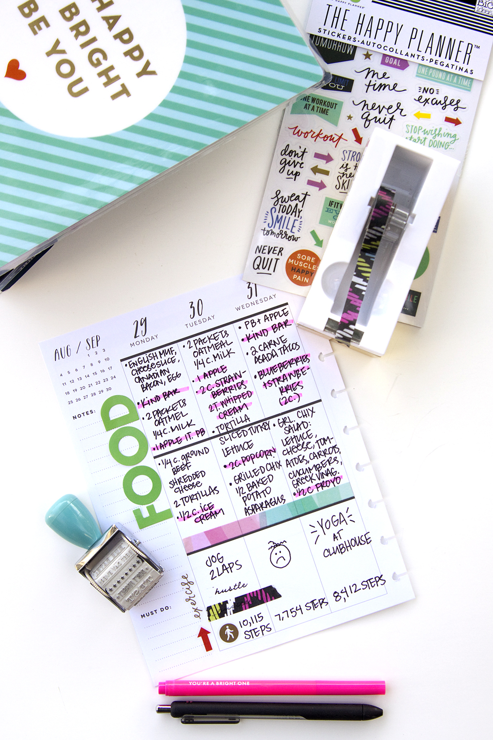 Two ideas for what to do with your extra happy planner for Custom photo planner