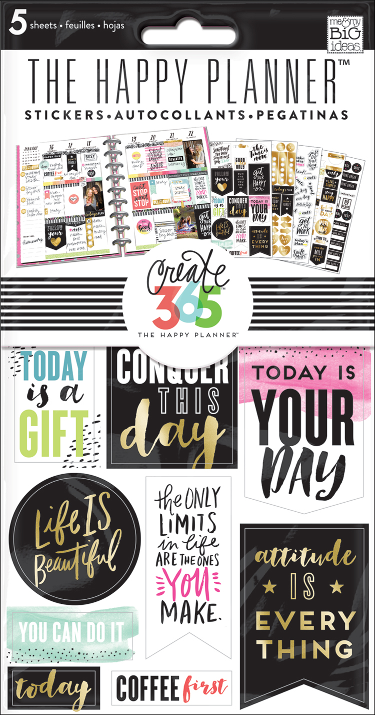 'Conquer This Day' sticker value pack for The Happy Planner™ | me & my BIG ideas.jpg