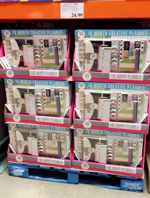 MAMBI planner kit Costco