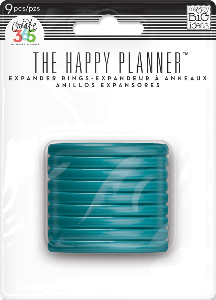 Teal Expander Discs for The Happy Planner™ | me & my BIG ideas.jpg