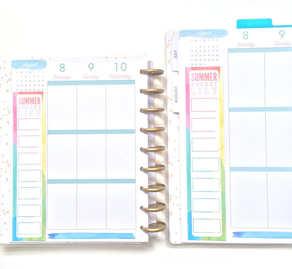 SUMMER BUCKET LIST & July 2016 IG challenge printable | me & my BIG ideas