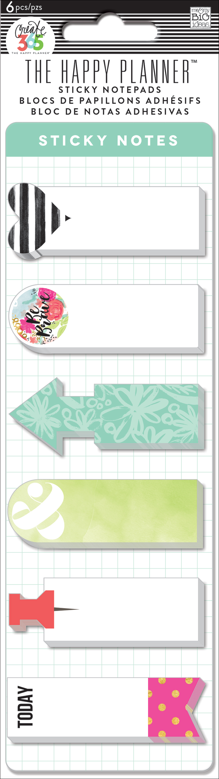 'Be Brave' long thing Sticky Notes for The Happy Planner™ | me & my BIG ideas.jpg