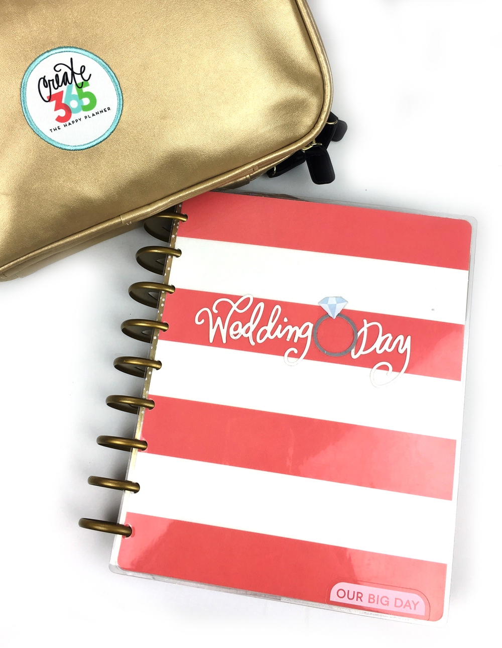 a Happy Planner™ Wedding Emergency Kit by mambi Design Team member Chantal Stevens | me & my BIG ideas
