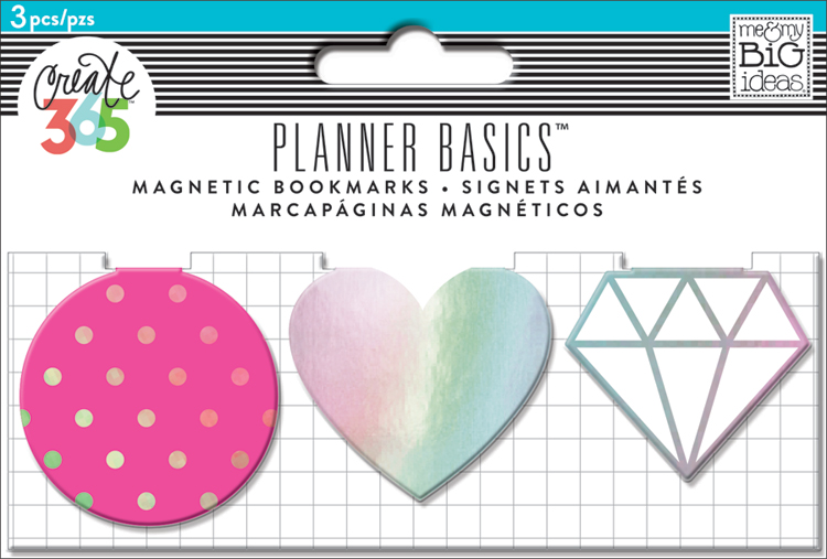 'Neon' Planner Basics™ Magnetic Clips for The Happy Planner™ | me & my BIG ideas.jpg