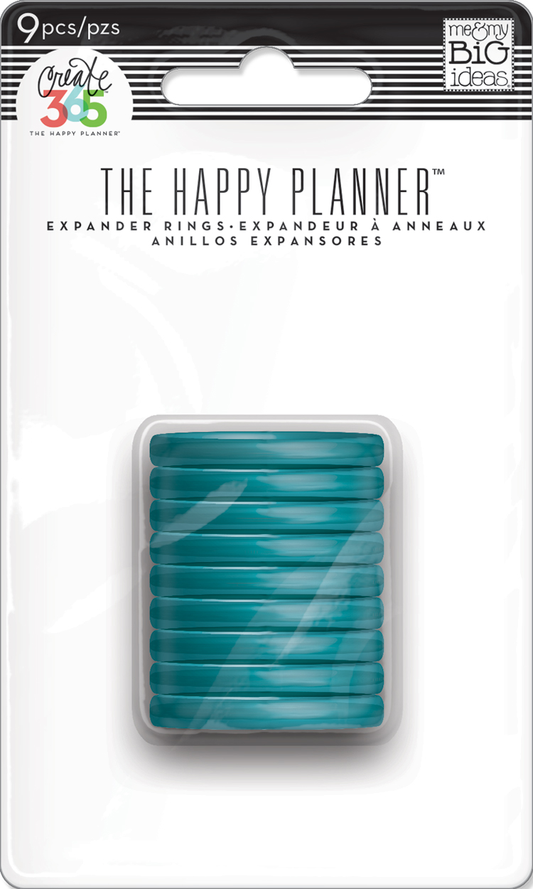 Medium Clear Teal Discs for The Happy Planner™ | me & my BIG ideas.jpg