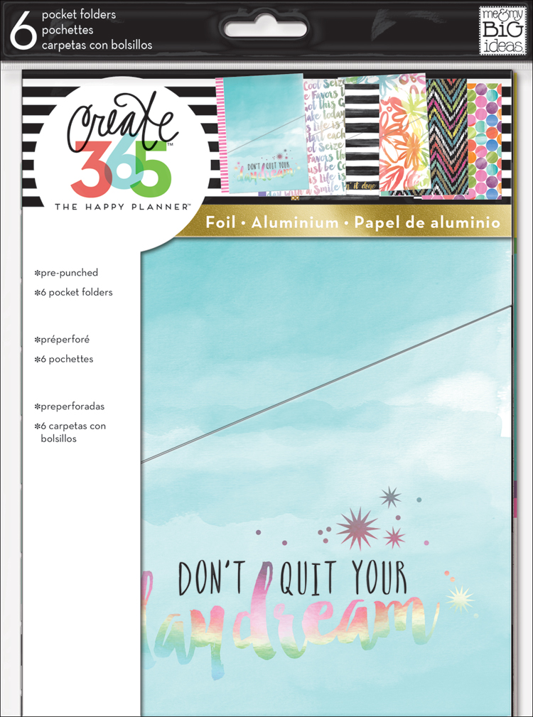 'Don't Quit Your Daydream' Pocket Folders for The Happy Planner™ | me & my BIG ideas.jpg