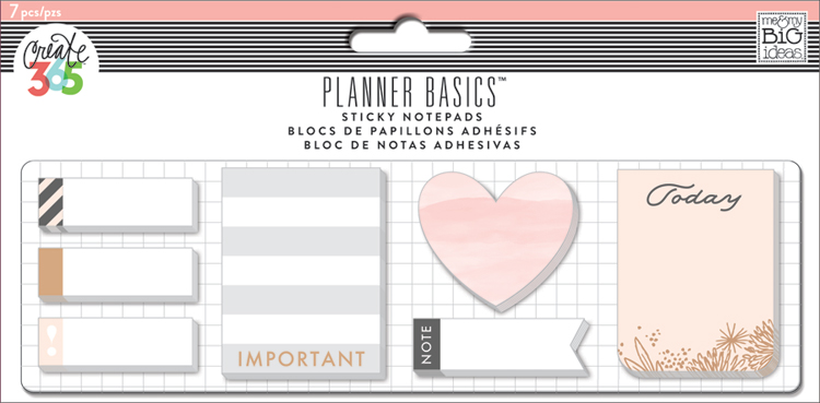 'Rose Gold' Sticky Notes for The Happy Planner | me & my BIG ideas.jpg
