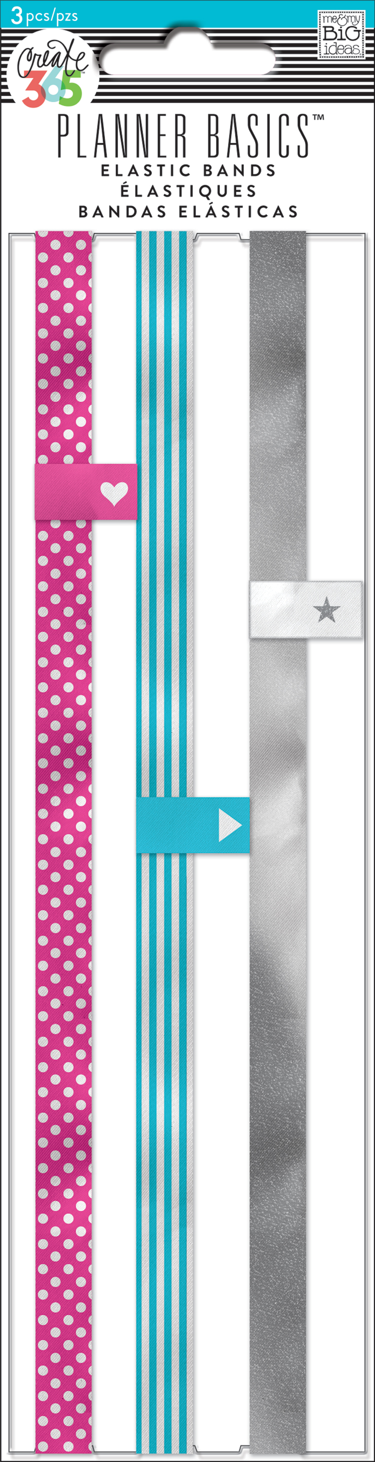 'Neon' Planner Basics™ elastic bands for The Happy Planner™ | me & my BIG ideas.jpg
