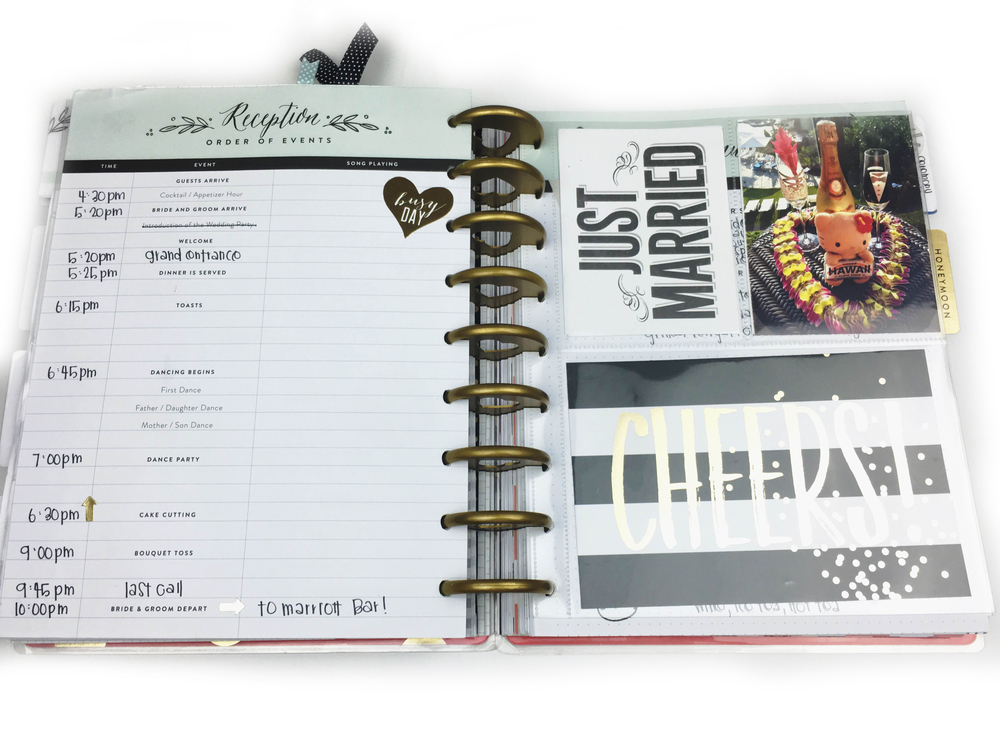 The Happy Planner™ Wedding Planner™ flip-through by Chantal Stevens | me & my BIG ideas
