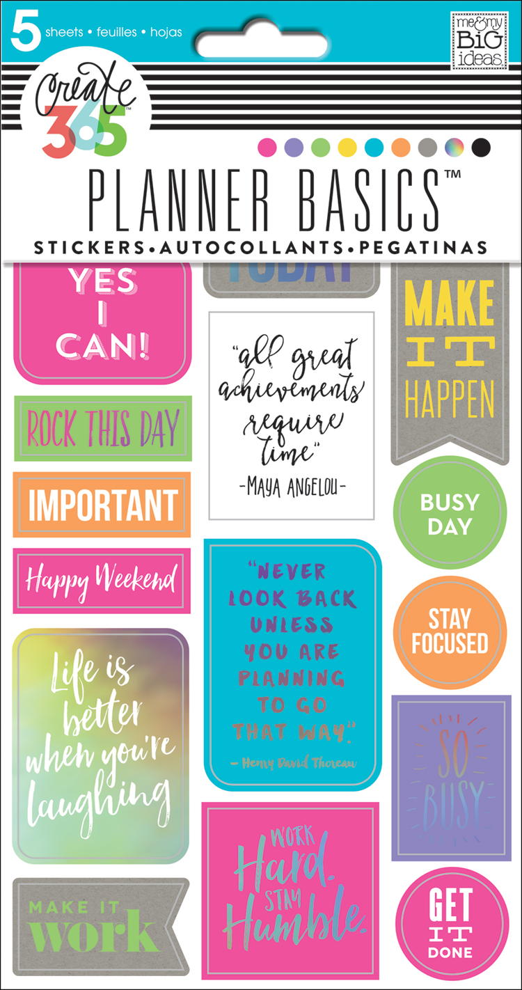 'Neon' Planner Basics™ sticker value pack for The Happy Planner | me & my BIG ideas.jpg