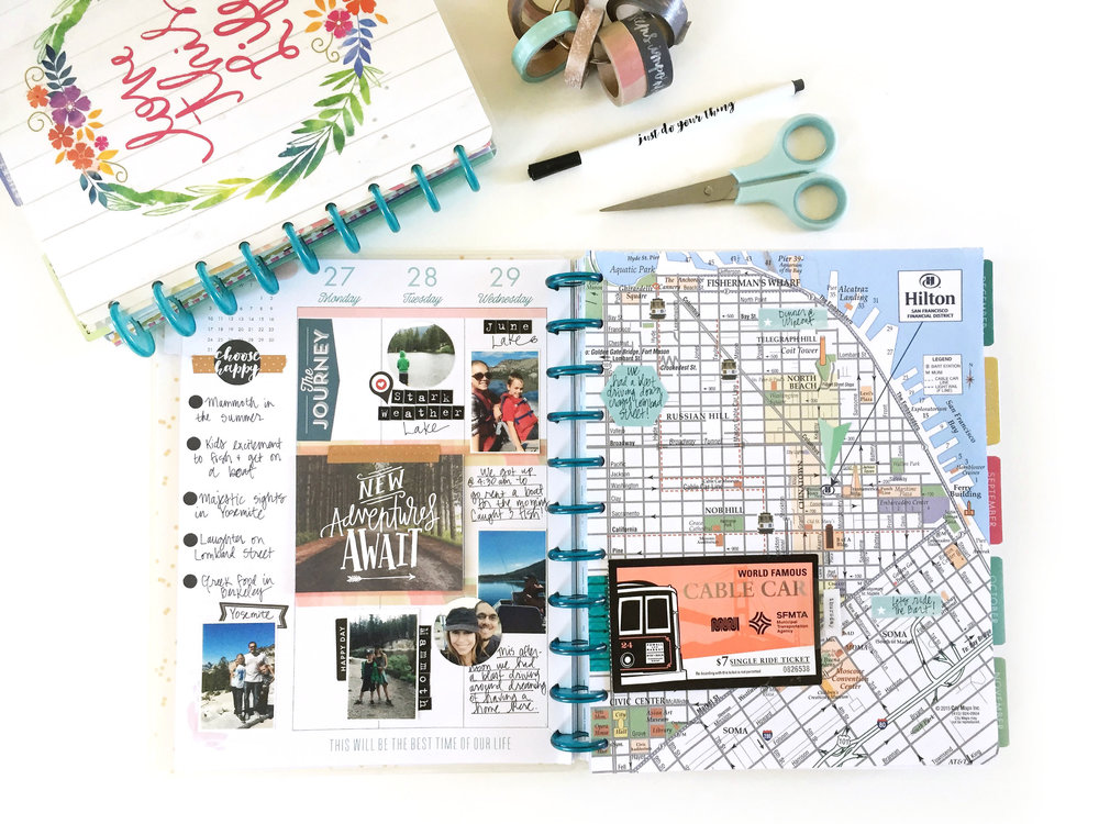 transitioning from the CLASSIC size Happy Planner™ to the BIG Happy Planner™ by mambi Design Team Jen Randall | me & my BIG ideas