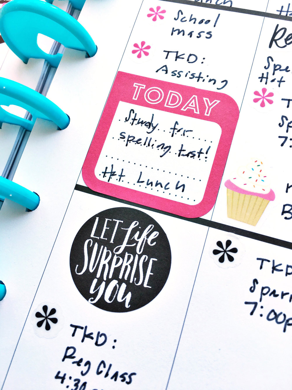 one September week, two ways in The Happy Planners™ of mambi Design Team member Theresa Doan | me & my BIG ideas