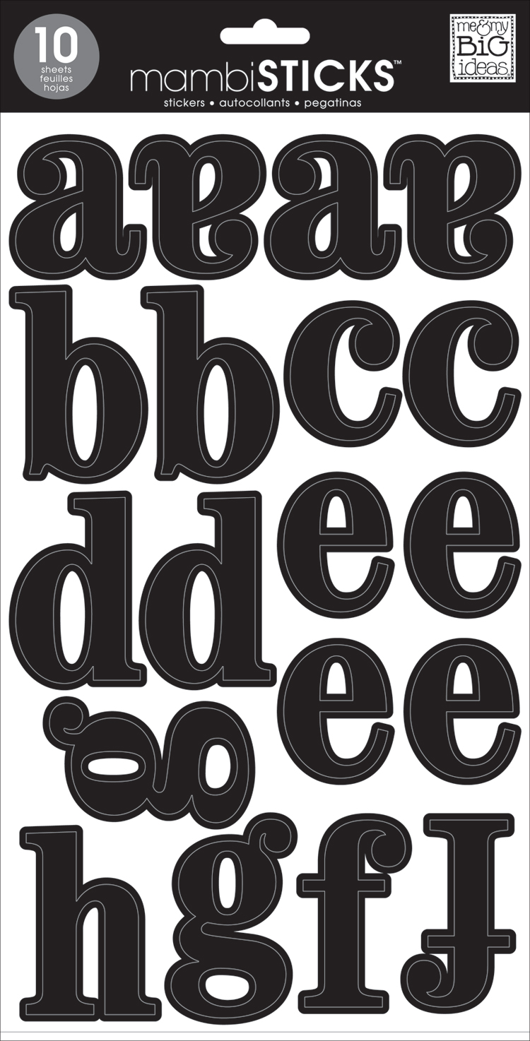 Lowercase Medium Black mambiSTICKS alpha stickers | me & my BIG ideas.jpg