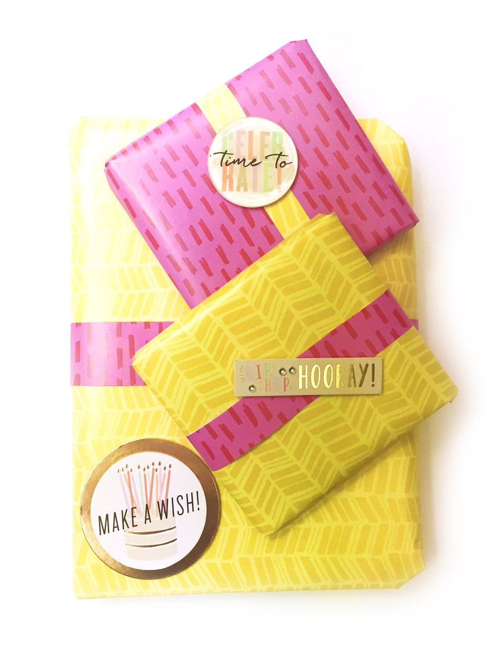 An Expandable Paper Pad To Wrap Birthday Gifts By Mambi Design Team Member Casie Gutierrez