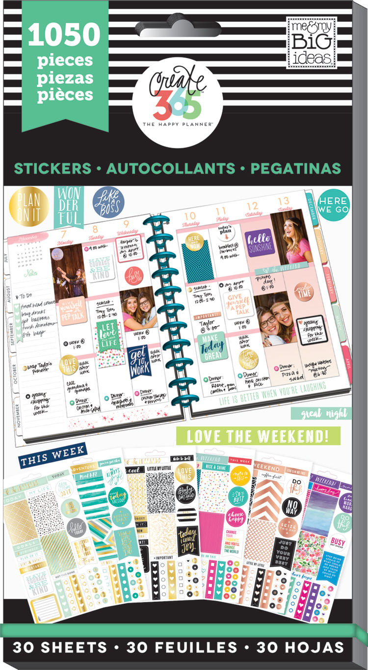 'Color-Coordinated' MEGA Sticker Value Pack | me & my BIG ideas.jpg