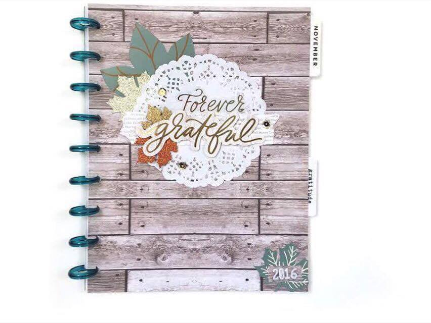 a Gratitude Journal in The Happy Planner™ of mambi Design Team member Jen Randall | me & my BIG ideas