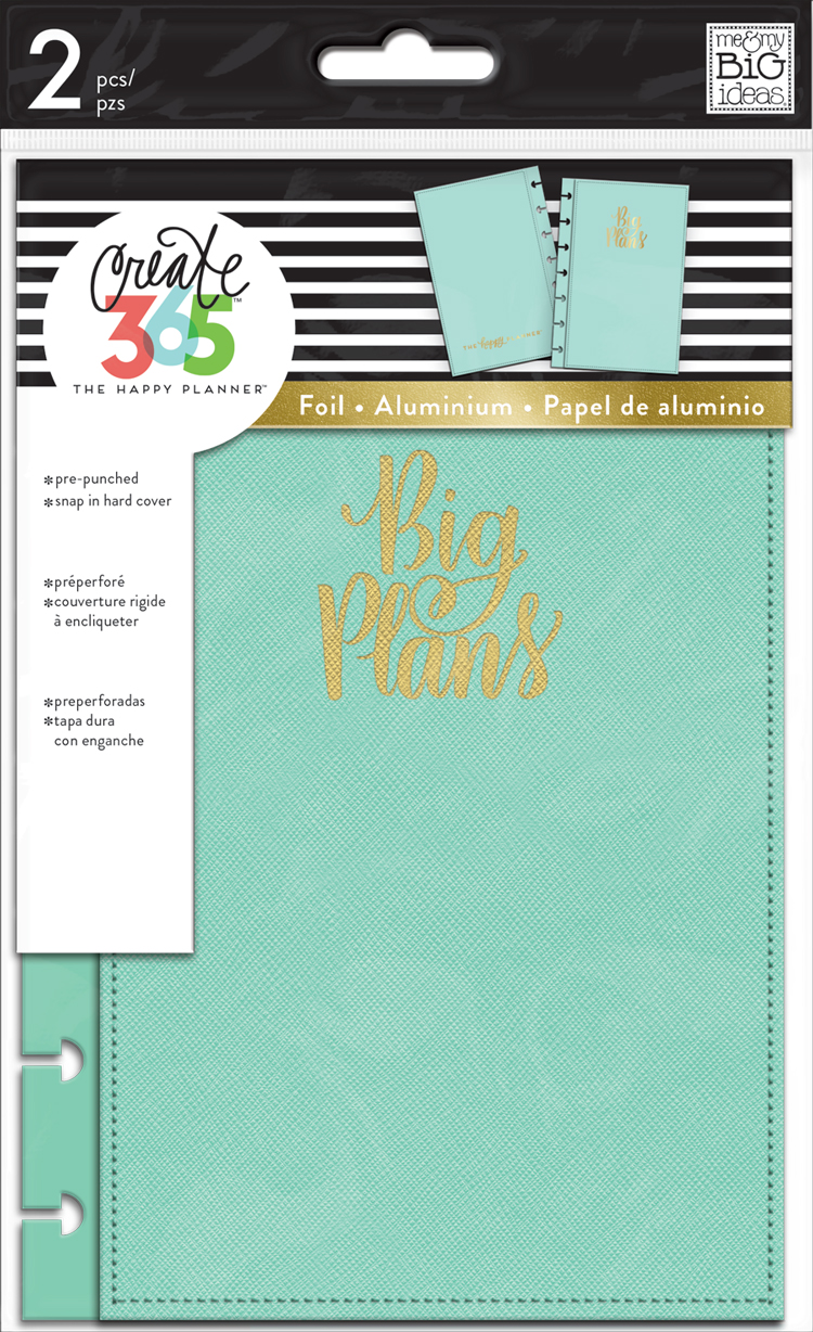 'Big Plans' MINI Happy Planner™ Snap-In Hard Cover | me & my BIG ideas.jpg