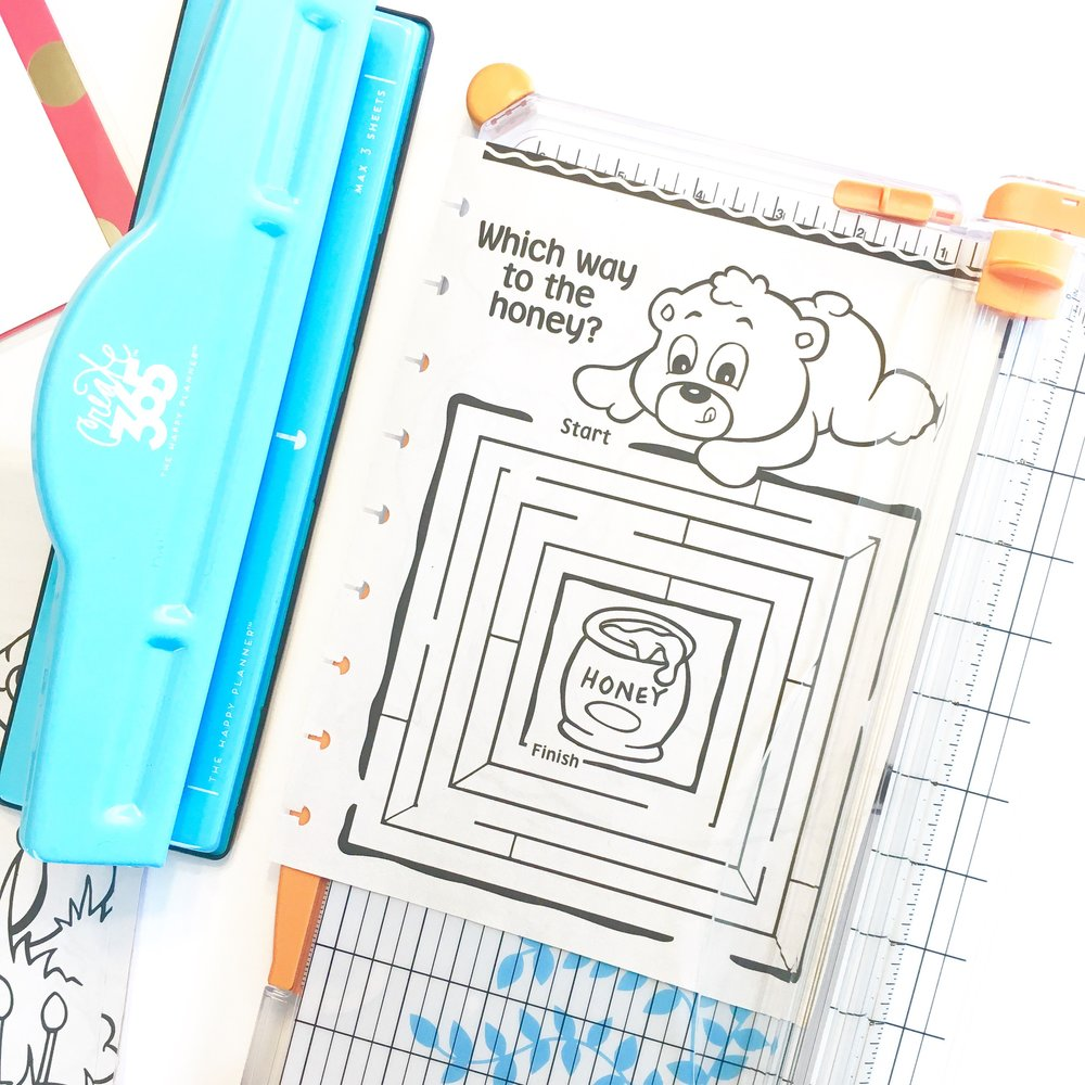 kid's road trip travel book in The Happy Planner™ by mambi Design Team member Gretchen Klobucar | me & my BIG ideas