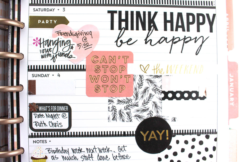 Rose Gold Horizontal layout by mambi Design Team member Tiffany Ross that puts the 'FUN' in FUNctional (!!!) | me & my BIG ideas