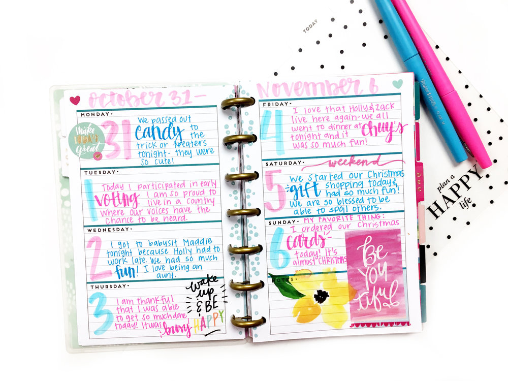mini happy planner gratitude happiness journal me my big ideas