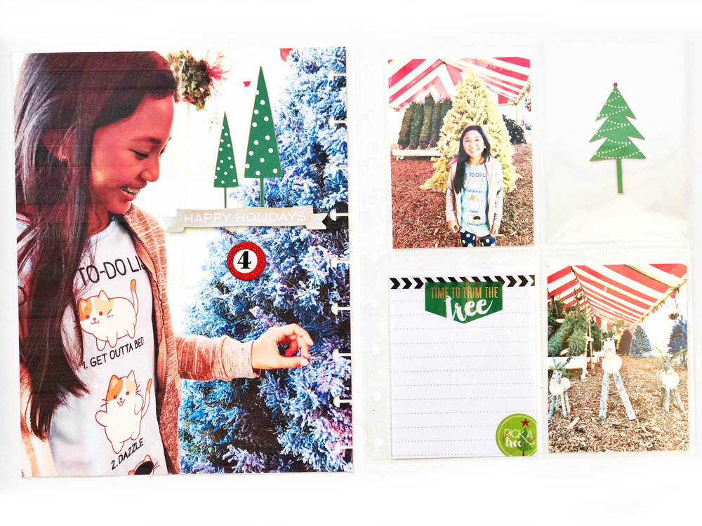 documenting December in The Happy Planner® by mambi Design Team member Sheena MacComiskey | me & my BIG ideas