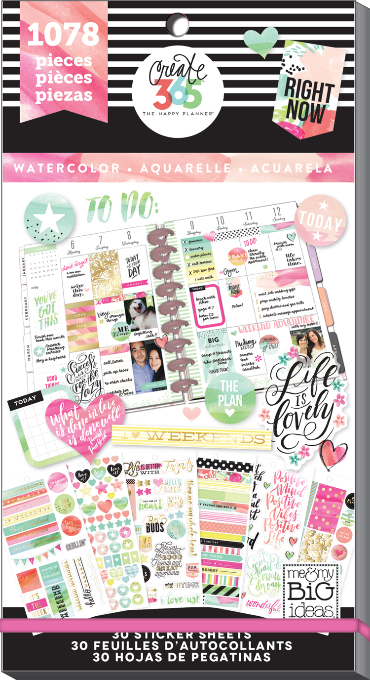 'Watercolor' sticker value pack for The Happy Planner® | me & my BIG ideas.jpg