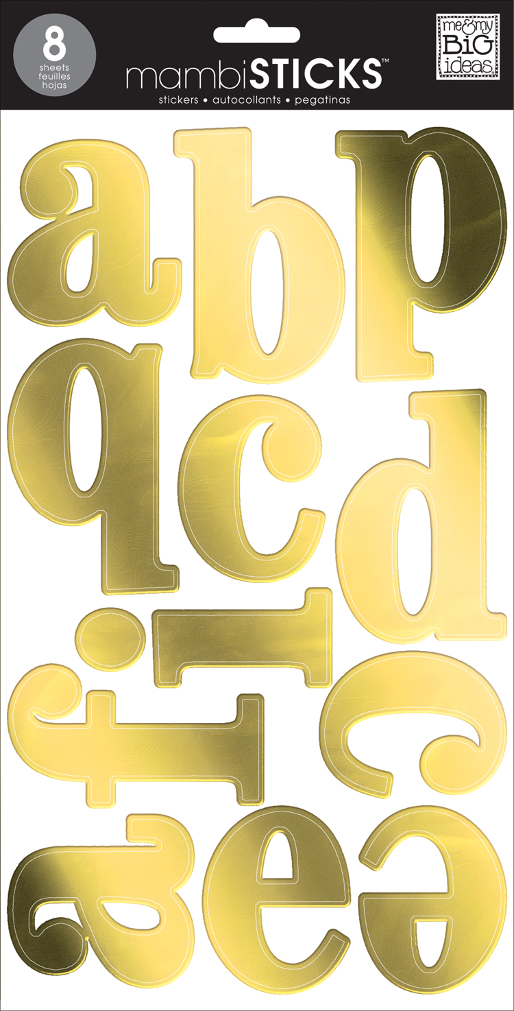 Gold Foil Serif Lowercase amambiSTICKS alphabet stickers | me & my BIG ideas.jpg