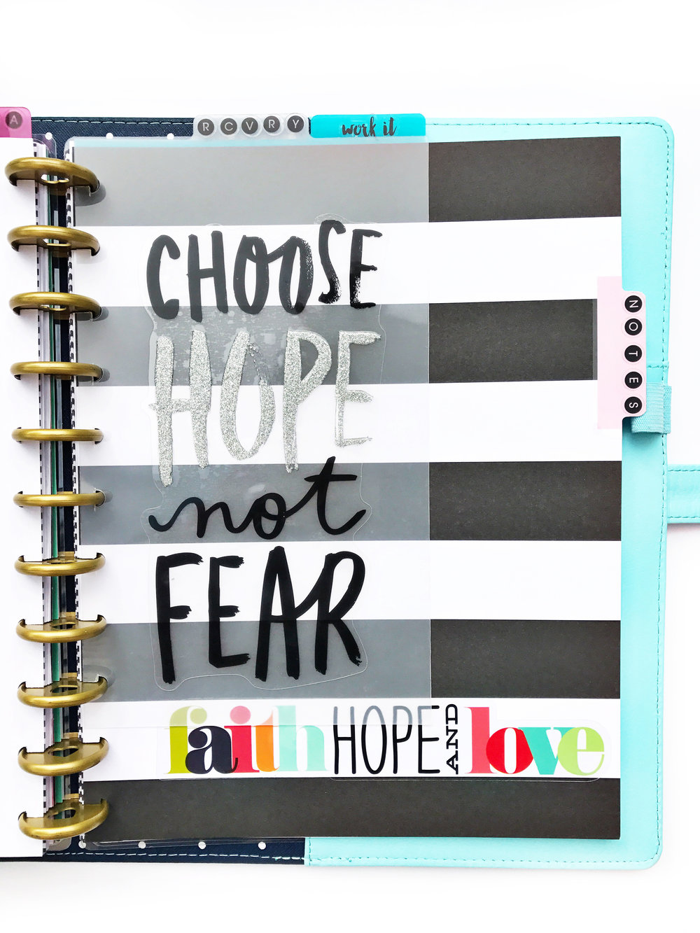 using the BIG 'Make Things Happen' Happy Planner® for 2017 by Design Team member Sheena MacComiskey | me & my BIG ideas