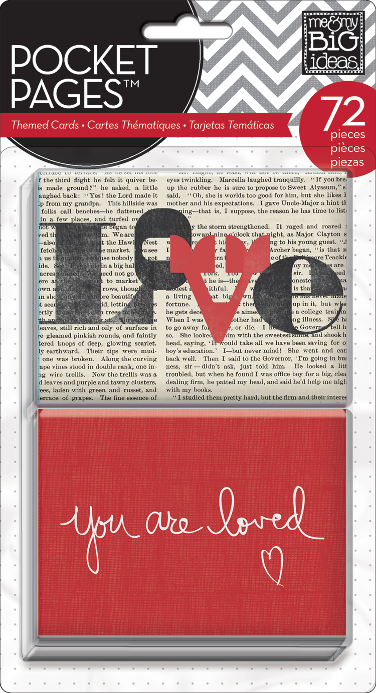 'You Are Loved' POCKET PAGES™ card | me & my BIG ideas.jpg