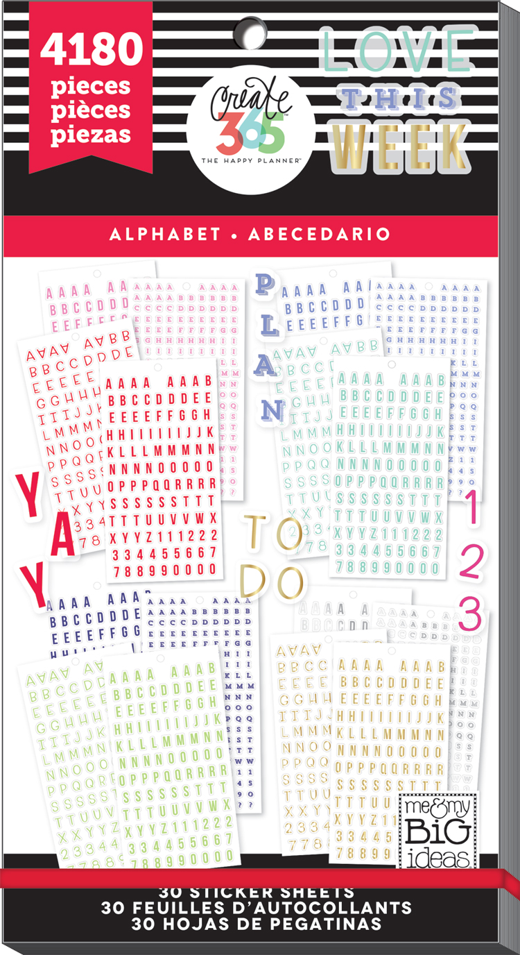 'Alphabet' MEGA Happy Planner® sticker value pack | me & my BIG ideas.jpg