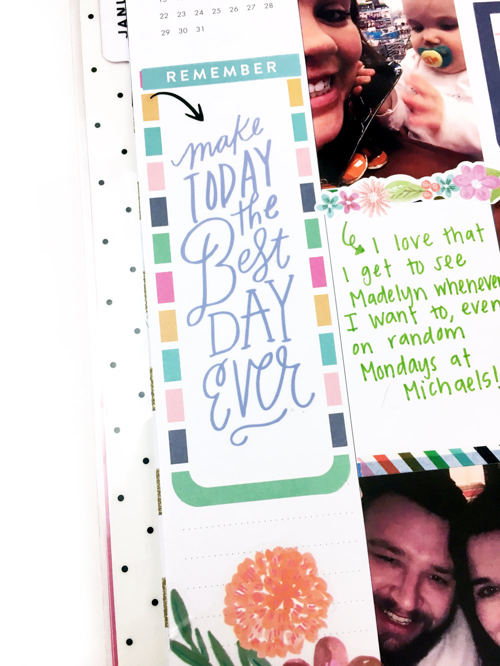 5 ideas for your Happy Planner® sidebar by mambi Design Team member Heather Kell | me & my BIG ideas