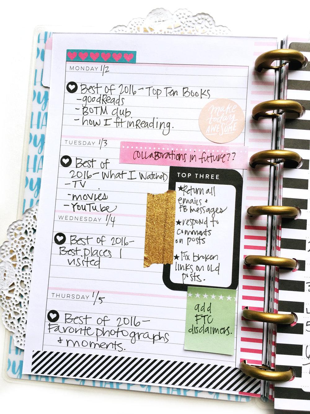 create 365 the happy planner me my big ideas
