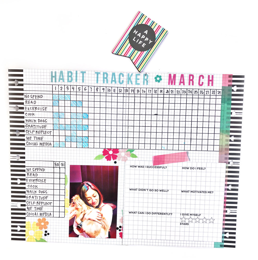 MINI Happy Planner® Bullet Journalling by mambi Design Team member Sheena MacComiskey | me & my BIG ideas