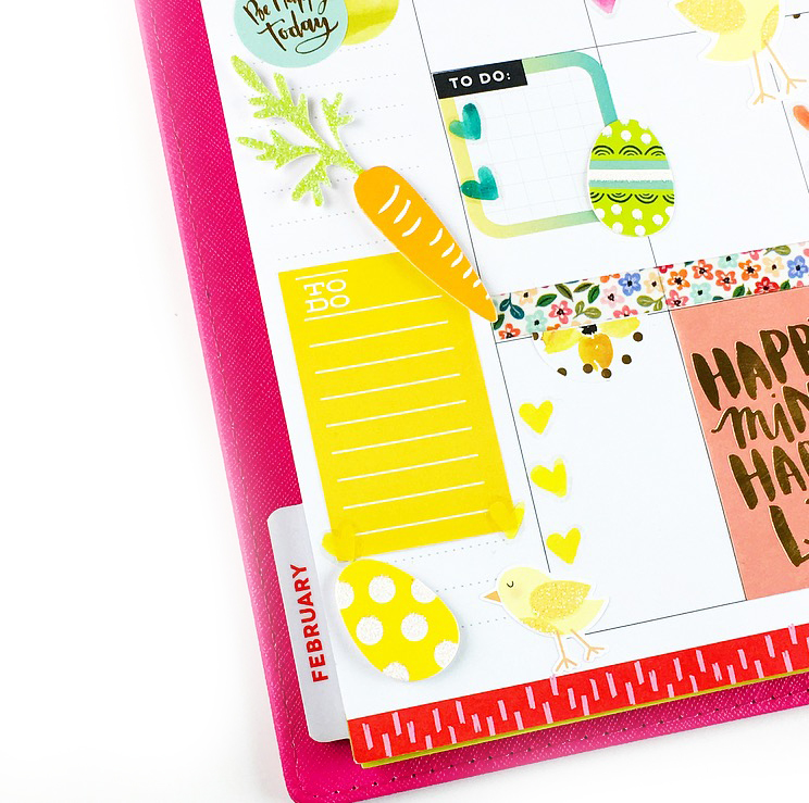 Easter week #beforethepen in the CLASSIC 'Be Bright' Happy Planner® of mambi Design Team member Nita Patterson | me & my BIG ideas