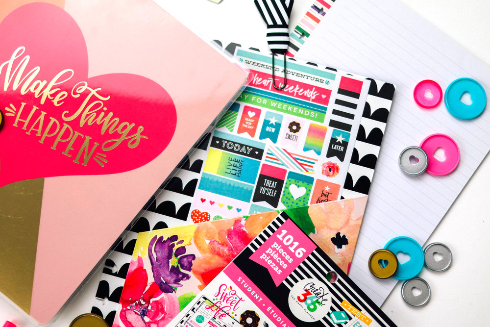 the new Happy Planner®  'Back to School' set | me & my BIG ideas