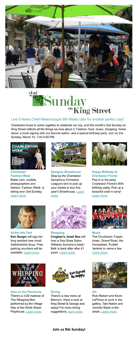 2nd Sunday Newsletter