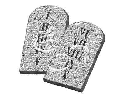 0031 Diez Mandamientos, 10, Ley de Moisés, Mosaica, Antiguo Pacto, Decálago2.jpg