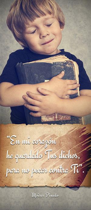 """Folleto """"En Mi Corazón He Guardado Tus Dichos, para No Pecar Contra Ti"""""""