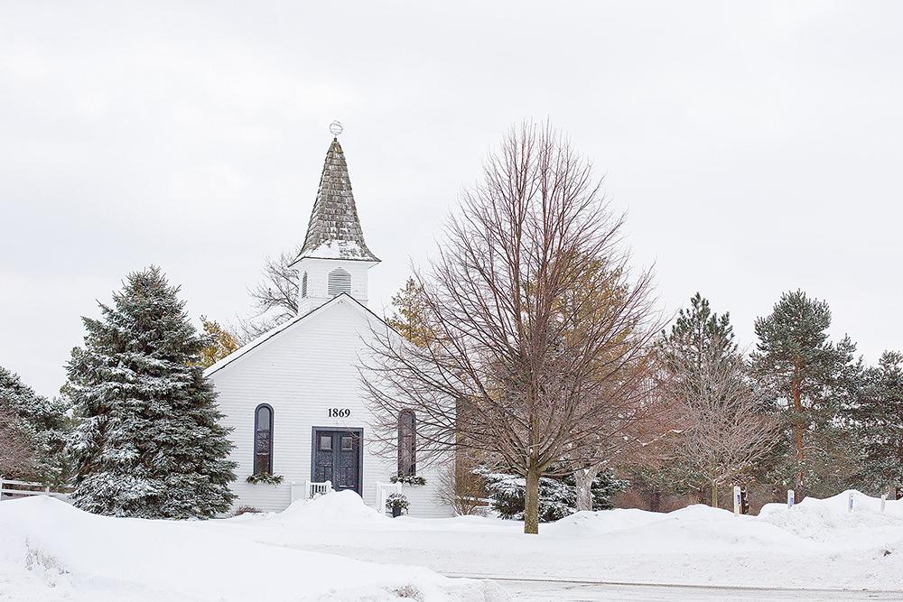 Foto gratis de vista frontal de capilla en Quaint
