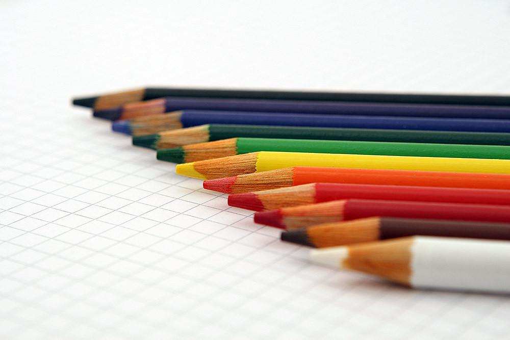 Foto gratis de lápices de colores
