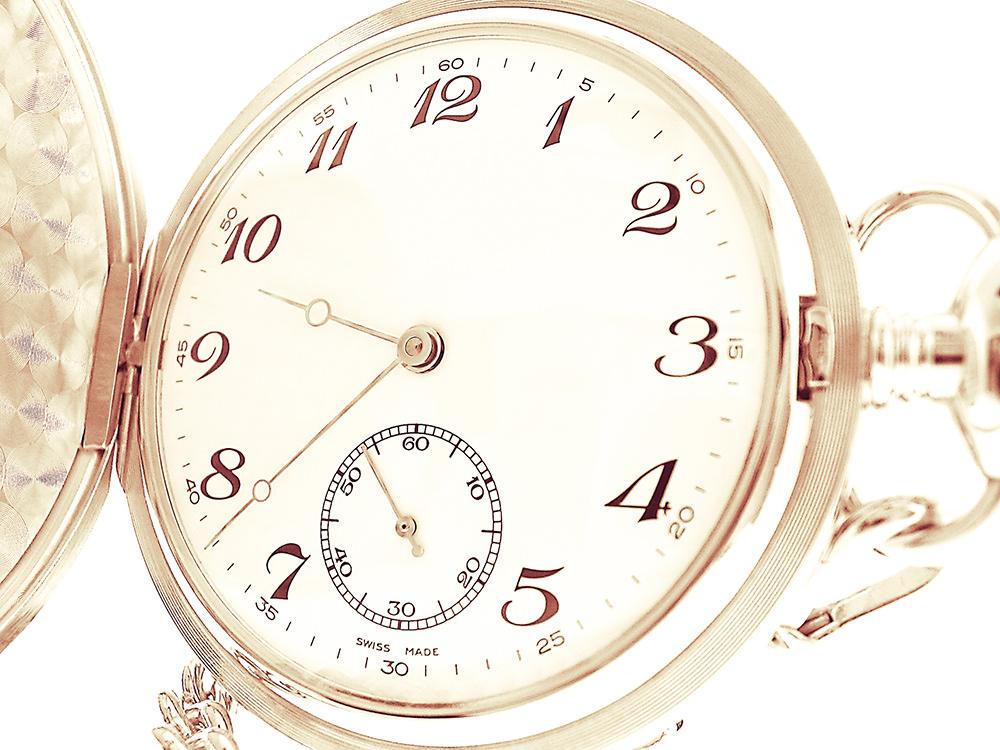 Foto gratis de reloj de bolsillo