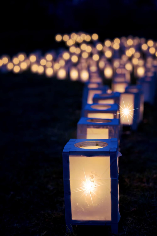 Foto gratis de luces en la noche