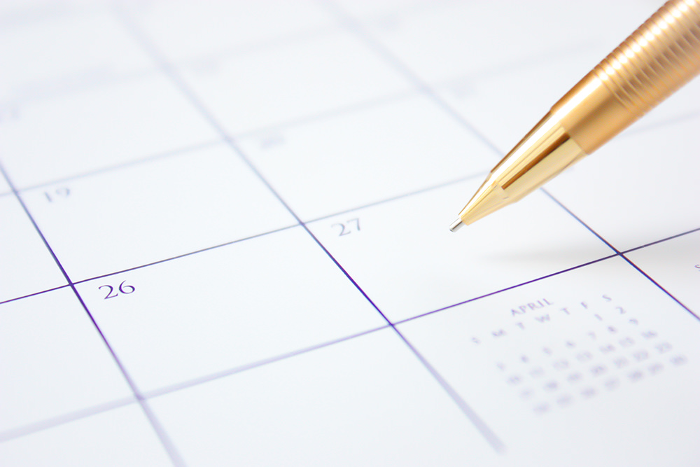 Foto gratis de calendario