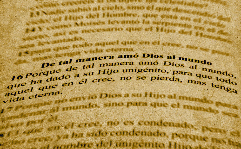 Foto gratis de Juan 3:16