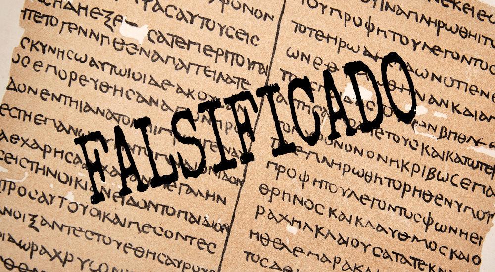 Falsificado: La Misma Mentira de Antes