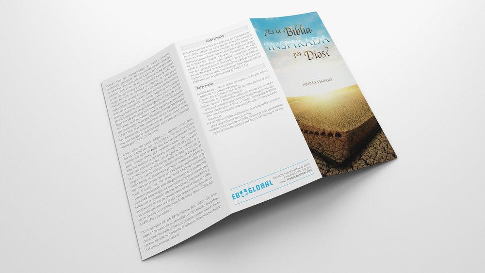 Folleto ¿Es la Biblia Inspirada por Dios?