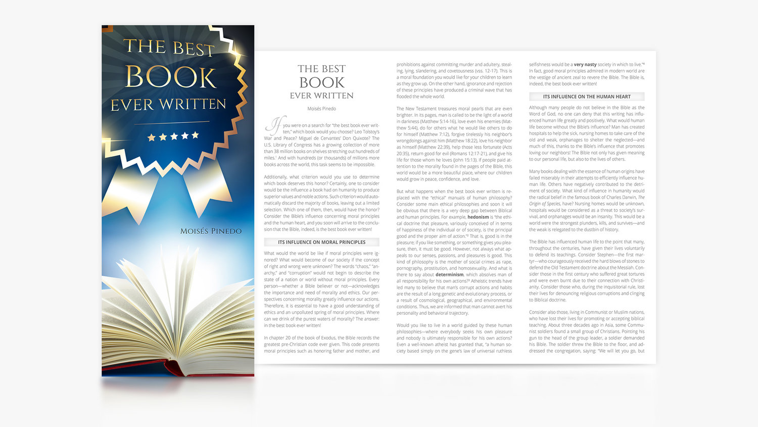The Best Book Ever Written — EB Global: Enfoque Bíblico / Bible Focus